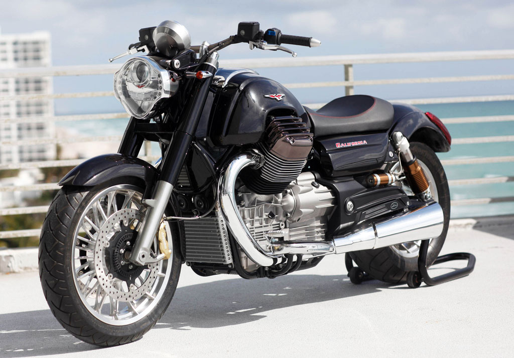 2013 moto guzzi 1400 california aims to shake the cruiser segment