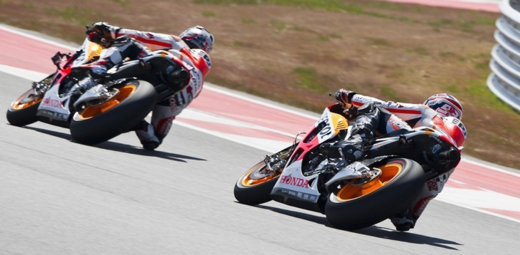 2013 MotoGP: Honda Bikes Are Even Faster at COTA - autoevolution