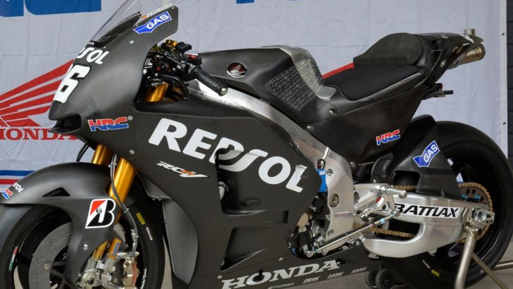 2013 MotoGP: Honda Shows the 2014 RC213V at Aragon - autoevolution