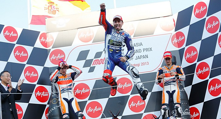 2013 motogp jorge lorenzo wins at motegi title decided at 4 photos voltagebd Images