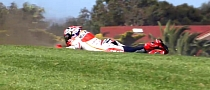 2013 MotoGP: Lorenzo Fastest in Practice, Marquez Crashes at Lukey Heights [Video]