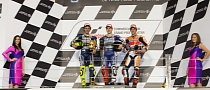2013 MotoGP: Lorenzo, Rossi and Marquez on the Podium