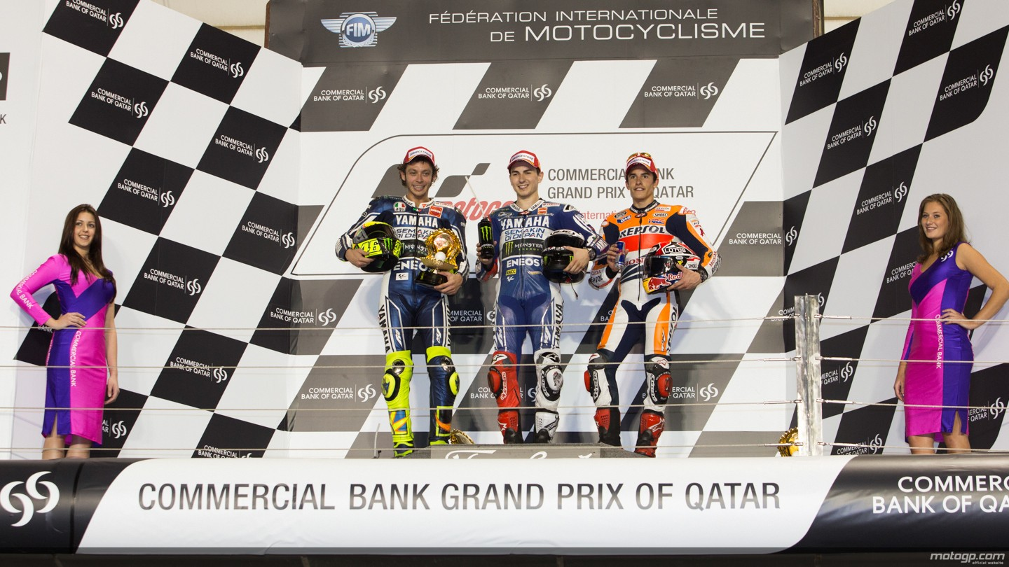 2013 motogp lorenzo rossi and marquez on the podium autoevolution qatar results lorenzo rossi and marquez on the podium voltagebd Images