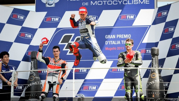 2013 MotoGP: Lorenzo's Hat Trick at Mugello