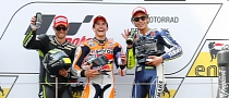 2013 MotoGP: Marquez Wins at Sachsenring, Consecutive Podiums for Crutchlow and Rossi