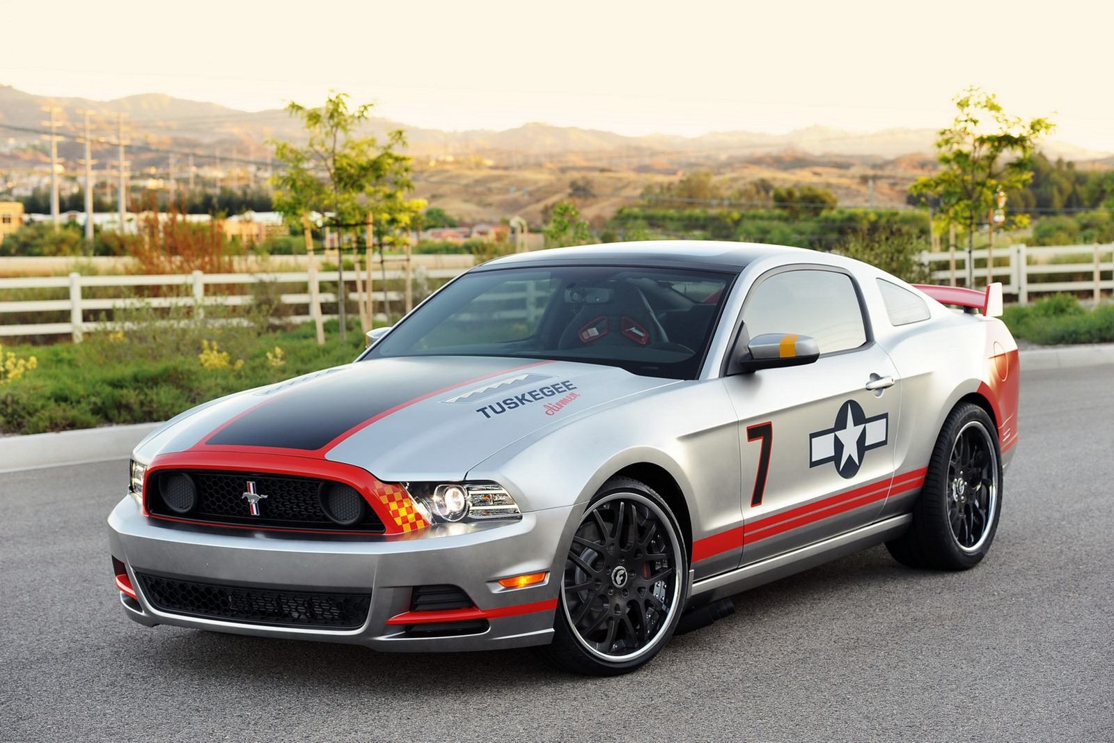 2013 mustang gt livered after p 51 fighter autoevolution