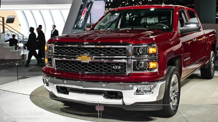 2013 NAIAS: All-New 2014 Chevy Silverado [Live Photos]