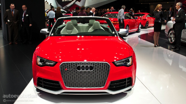 2013 NAIAS: Audi RS5 Cabriolet [Live Photos]