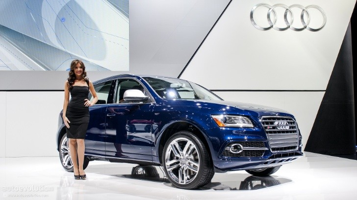 2013 NAIAS: Audi SQ5 [Live Photos]