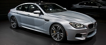 2013 NAIAS: BMW M6 Gran Coupe [Live Photos]