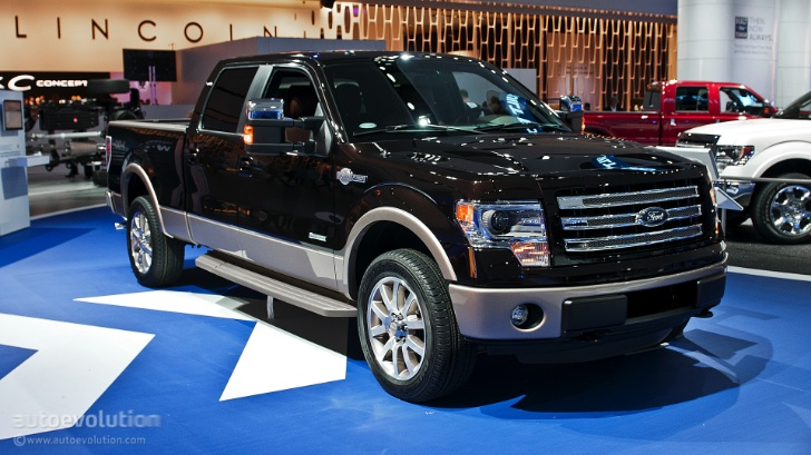 2013 Naias Ford F 150 King Ranch Special Edition Live Photos Autoevolution