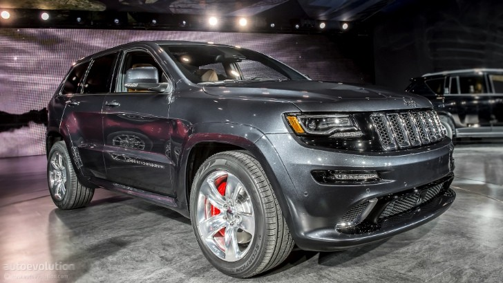 2013 NAIAS: Jeep Grand Cherokee SRT8 [Live Photos]