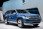 2013 NAIAS: Volkswagen CrossBlue Concept [Live Photos]