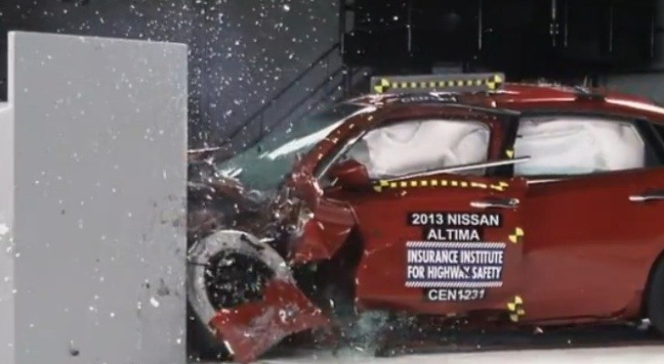 2013 Nissan Altima Earns Top Safety Pick Plus Rating from IIHS [Video]