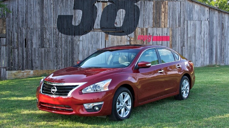 2013 Nissan Altima Hits US Showrooms
