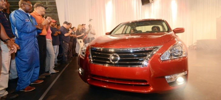 2013 Nissan Altima Production Begins in Mississippi