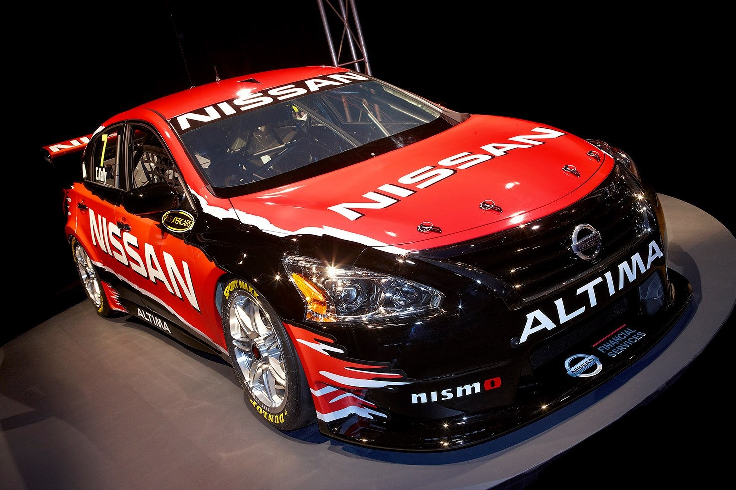 2013 Nissan Altima Supercar V8 Supercar Revealed