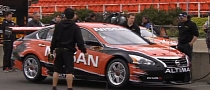 2013 Nissan Altima V8 Supercar Tested in Australia [Video]
