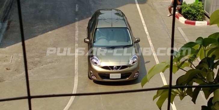2013 Nissan Micra Facelift First Photos [Video]