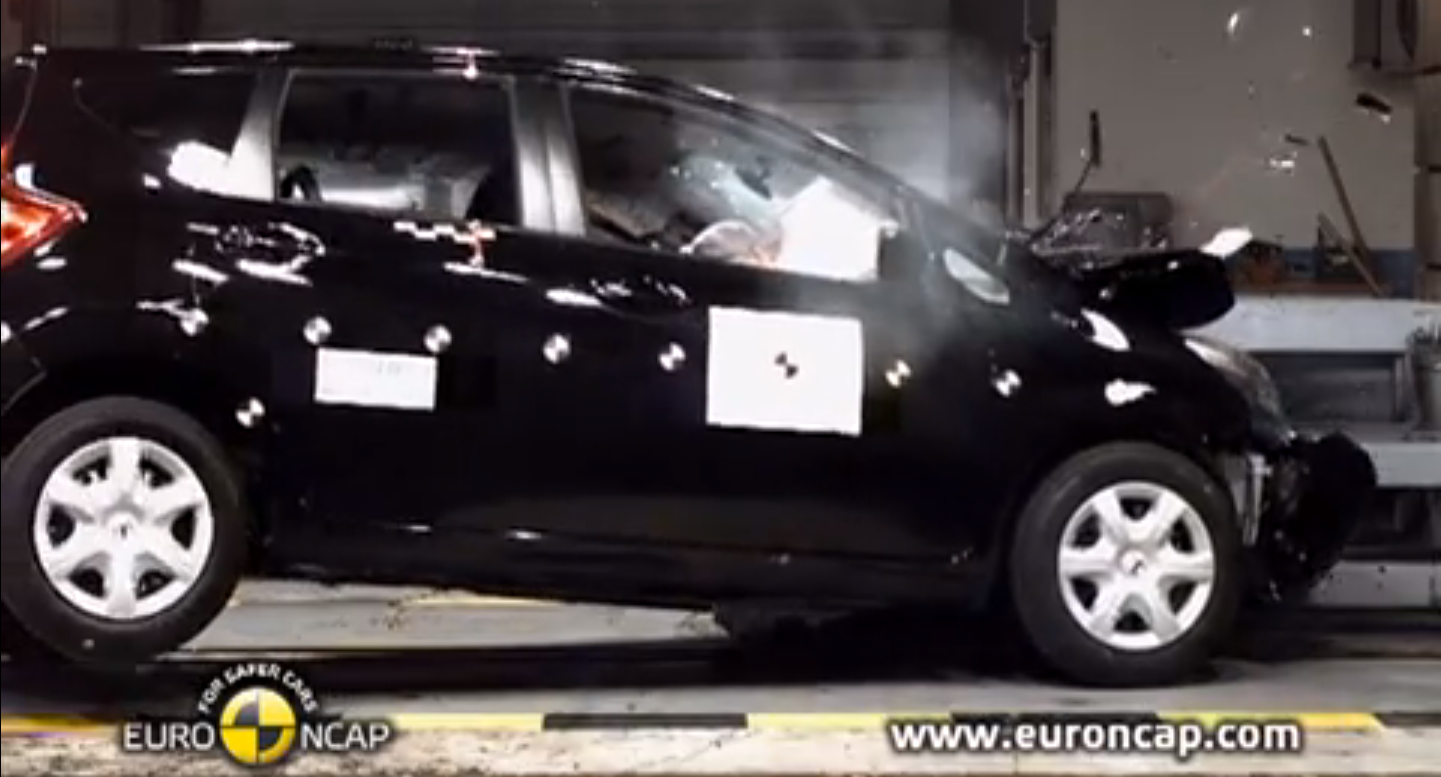 2013 Nissan Note Gets 4 Star Rating From Euro Ncap