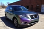 2013 Nissan Pathfinder Gets Purple Chameleon Wrap [Photo Gallery]