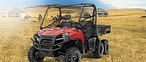 2013 Polaris Ranger 6x6 800, the Ultimate Traction SxS