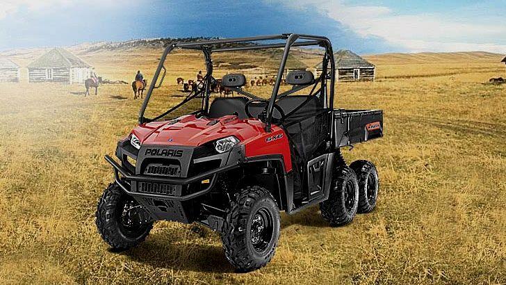 2013 polaris ranger 6x6 800 the ultimate traction sxs autoevolution