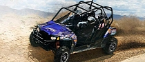 2013 Polaris RZR 4 800, Fun for Four in the Dirt