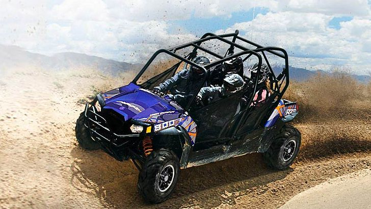 2013 polaris rzr 4 800 fun for four in the dirt autoevolution. Black Bedroom Furniture Sets. Home Design Ideas