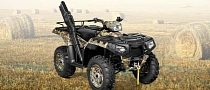 2013 Polaris Sportsman 550: Guns, Camo Paint and Premium Performance
