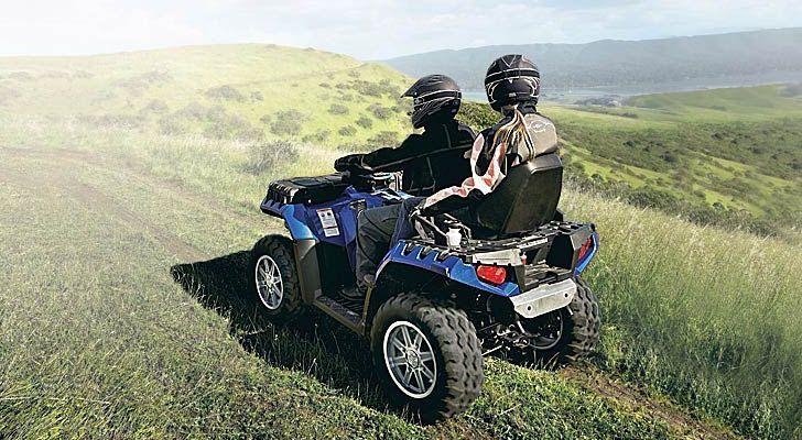 2013 Polaris Sportsman Touring 550 EPS, Half a Liter of Off-Road Fun