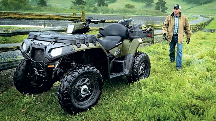 2013 Polaris Sportsman X2 550, from Work to Play in Seconds
