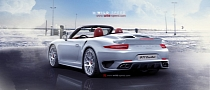 2013 Porsche 911 (991) Turbo Convertible Renderings