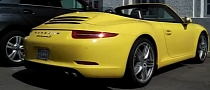 2013 Porsche 911 Carrera S Cabrio (991) Spotted [Video]