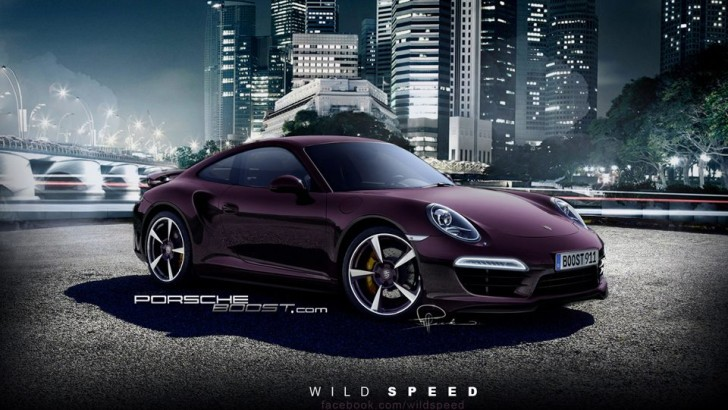 2013 Porsche 911 Turbo Rendering Hits the Web