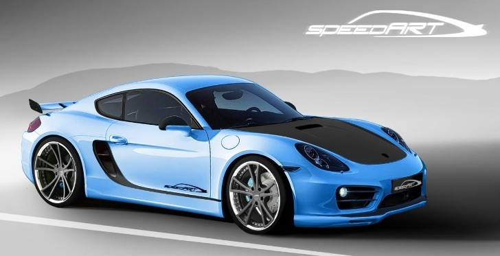 2013 Porsche Cayman Becomes SpeedART SP81-CR, to Debut in Geneva