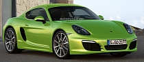 2013 Porsche Cayman Rendering Released