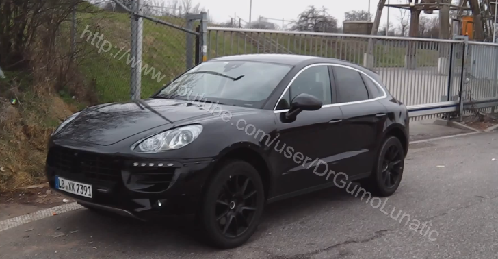 2013 Porsche Macan Prototype Caught in Stuttgart [Video]
