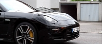 2013 Porsche Panamera Facelift Spotted Again [Video]