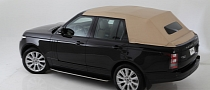 2013 Range Rover Gets Chopped to a Convertible [Photo Gallery]