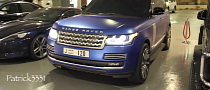 2013 Range Rover Looks Frosty in Blue [Video]
