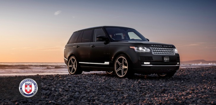 "2013 Range Rover Looks ""the Business"" on HRE Wheels"