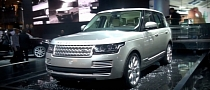 2013 Range Rover Makes World Debut in Paris [Video]