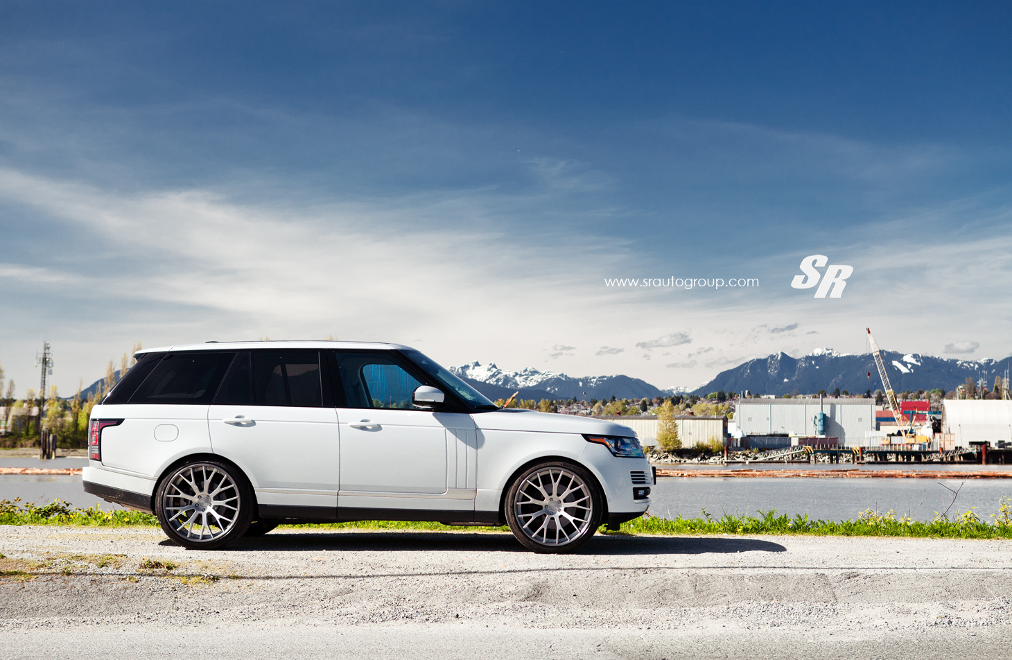 2013 range rover on 24 inch pur wheels autoevolution