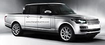 2013 Range Rover Pickup Makes Us LOL