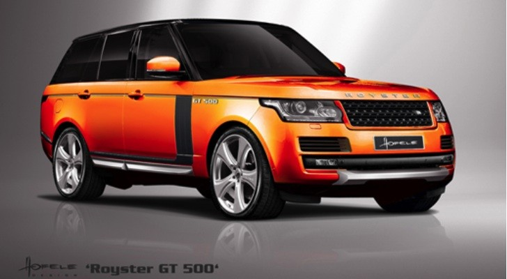 2013 Range Rover Royster GT 500 by Hofele Design Previewed