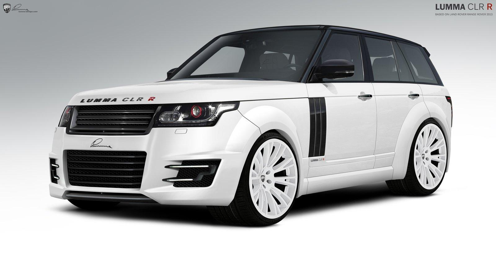 2013 range rover targeted by lumma design autoevolution. Black Bedroom Furniture Sets. Home Design Ideas