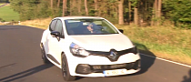 2013 Renault Clio RS 200 EDC Spotted Testing [Video]