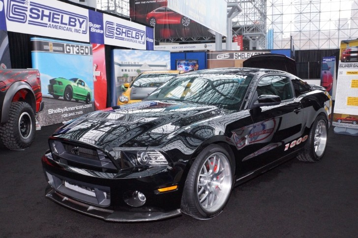 2013 Shelby 1000 Storms Into New York with 1200 HP [Live Photos]