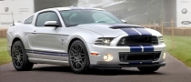 2013 Shelby Mustang GT500 at Goodwood